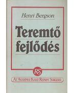 Teremtő fejlődés - Bergson, Henri