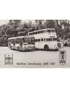 Berliner Omnibusse 1846 - 1987