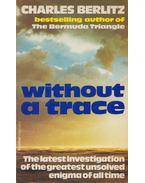Without a Trace - Berlitz, Charles