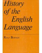 A History of the English Language - Berndt, Rolf