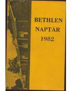 Bethlen naptár 1982 - Bertalan Imre, Illés Lajos, Kovács Pál