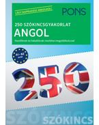 PONS 250 Szókincsgyakorlat Angol - Kezdőknek és haladóknak részletes megoldókulccsal - Birgit Piefke, Wagner