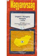 Magyarország 1:500000 országtérkép - Bíró Géza, Cziráky Ferenc, Hidas Gábor, Hőnyi Ede
