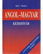 Angol-Magyar kéziszótár - Bíró Lajos Pál, Weller József