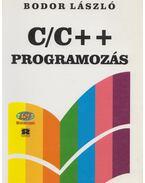 C/C++ programozás - Bodor László