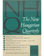 The New Hungarian Quarterly 60 - Boldizsár Iván