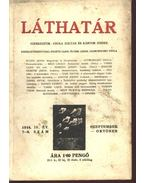 Láthatár - IV. évfolyam, 7-8. szám - Csuka Zoltán, Kántor József