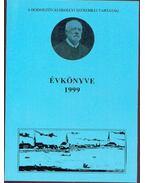 A hódmezővásárhelyi Szeremlei Társaság évkönyve 1999 - Kovács István, Kruzslicz István Gábor