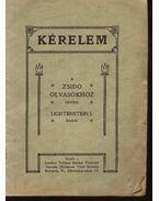 Kérelem a zsidó olvasókhoz - Lichtenstein, J.