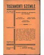 Tiszamenti Szemle - IV. évfolyam, 6. szám - Prókay Miklós (szerk.)