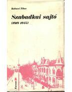 Szabadkai sajtó (1919-1945) - Kolozsi Tibor
