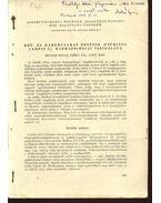 Két- és háromnyaras pontyok( Cyprinus carpio l.) haematológiai vizsgálata - Molnár Gyula, Nagy Emil, Széky Pál