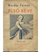 Első Kéve - Kordás Ferenc