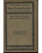 Idiomes Spracheigenheiten die jeder lernen - M. Bergmann