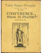 Conférence-témák és ötletek - Suchy Árpád (szerk.)