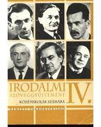 Irodalmi szöveggyűjtemény IV. - Valaczka András