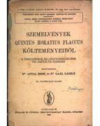 Szemelvények Quintus Horatius Flaccus költeményeiből - Dr. Gaál László, Dr. Antal Imre