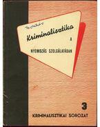 Kriminalisztika a nyomozás szolgálatában - Golunszkij, Sz. A., Melynyikova, E. B., Szamszonov, G. A., Zsdanova, Sz. A., Vibornova, A. A., Mitrissev, V. Sz.