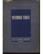 Mentovich Ferenc (dedikált) - Hajós József