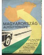 Magyarország autóúttérképe (1963) - Radó Sándor dr.