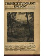 Természettudományi Közlöny 1934 évfolyam - Szabó-Patay József, Gombocz Endre