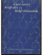 Kékfestés és kékfestőminták - Nagy Dezső