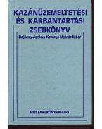 Kazánüzemeltetési és karbantartási zsebkönyv - Molnár József, Tallér Ferenc, Bajáczy Jenő, Jankus Ferenc, Koványi Sándor