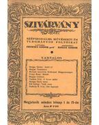 Szivárvány - VII. évfolyam, 10-11. szám - Hangay Sándor