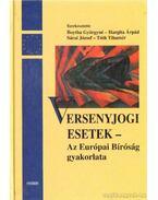 Versenyjogi esetek - Boytha Györgyné, Hargita Árpád, Sárai József, Tóth Tihamér