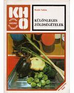 Különleges zöldségételek (dedikált) - Bozsik Valéria
