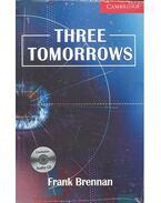 Three Tomorrows - CD - Stage 1 - Beginner - BRENNAN, FRANK