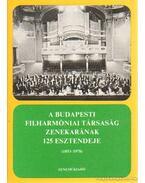 A Budapesti Filharmóniai Társaság zenekarának 125 esztendeje (1853-1978) - Breuer János