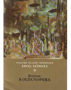 Koldusopera (dedikált) - Britten, Benjamin
