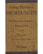 Dichtungen - BÜCHNER,GEORG