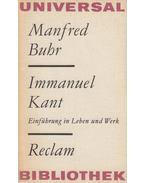 Immanuel Kant - Buhr,Manfred