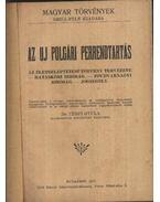 Az új polgári perrendtartás - Dr. Térfy Gyula