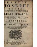 Bello Judaico - Josephus Flavius