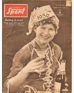 Képes Sport 1956. III. évfolyam + olimpiai különszám (hiányos) - Pásztor Lajos