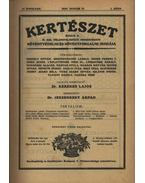Kertészet, VII. teljes évfolyam - 1930 - Dr. Jeszenszky Árpád