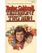 Testimony of Two Men - Caldwell, Taylor