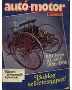 Autó-motor 1986. (teljes) - Pongrácz György