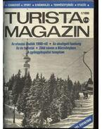 Turista magazin 1990. évfolyam (hiányos) - Hegedős Mihály (szerk.)