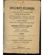 Hitelemzés példákban, vagyis: a katholikus hit- és erkölcstan rövid foglalata I. kötet - Nagy Antal