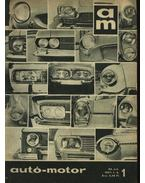 Autó-motor 1967. (teljes) - B. Pór Ibolya