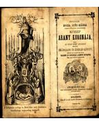 Hétfájdalmú Bold. Szűz Mária myomait követőknek mennybevezető közép arany koronája, - Áts Benjamin