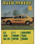 Autó-motor 1980. január-december (teljes) - Kókai Imre (szerk.)