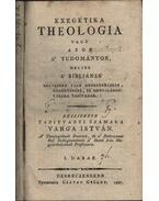 Exegétika theologia - Varga István