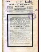 Természettudományi Közlöny XLVIII. kötet - Gorka Sándor, Ilosvay Lajos