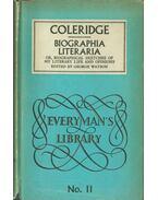 Biographia Literaria - Coleridge, Samuel Taylor