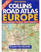 Collins Road Atlas Europe